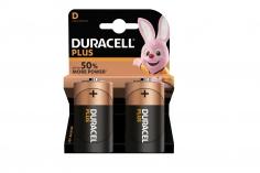 Duracell Plus D 1,5V Lithium Batterie LR20 2 Stück