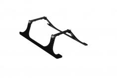 Rakonheli Landegestell Carbon in schwarz für Blade 150 S