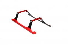 Rakonheli Landegestell Carbon in rot für Blade 150 S