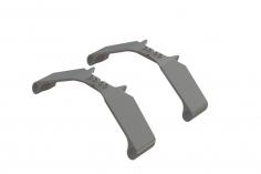 OXY Ersatzteil Kuffen Halterung in grau für OXY5
