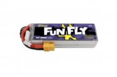 TATTU FunFly 1800mAh 14.8V 100C 4S1P Lipo Akku XT60