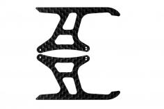 Rakonheli Landegestellseitenteile aus Carbon für mCPS737 für Blade mCP S