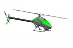 CHRONOS RSR 700 barebone - grau/grüne Haube