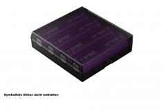 Efest H4 Aufbewahrungs BOX für 4x 18650 Akku  in schwarz