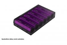 Efest H6 Aufbewahrungs BOX für 6x 18650 Akku  in schwarz