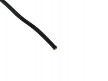 Silikonkabel kupfer 0,35mm schwarz 1Meter