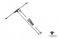 TBS Crossfire Immortal T-Antenne V2 EXTRA Extended (200mm) für Crossfire Empfänger