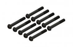 Linsenkopfschrauben mit Innensechskant M2x14 für OXY Heli 10 Stück