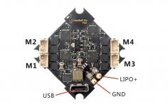 Happymodel Flugsteuerung Crazybee F4 Pro V3.0 2-4S für Mobula 7 Whoop 75mm PNP