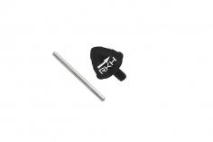 Rakonheli Heckrotorblatthalter Alu in schwarz für Blade 200SRX und 230S