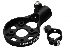 Rakonheli Heckmotorhalterung Alu in schwarz für Blade 230s und 250CFX