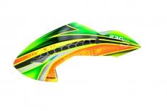 Microheli Fiberglas Haube High Speed im grün orangenem Design für den Blade 230 S und 230 S V2