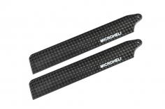 Microheli Hauptrotorblätter aus carbon 85mm für Blade Nano CP X , Nano CP S und Nano S2