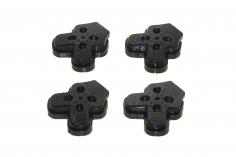 TPU Motorarmschützer in schwarz für TBS Source One V3 5 Zoll FPV Racing Frame