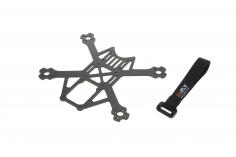 GOFLY RC FPV Racer 2,5 Zoll Scorpion 120 Toothpick Rahmen mit Klettband