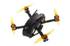 GOFLY RC FPV Racing Drone 2,5 Zoll Scorpion 120 Toothpick in schwarz für Spektrum
