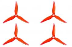 Gemfan FPV Race und Freestyle Propeller Hurricane 5146 5,1×4,6x3 in rot transparent