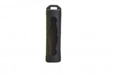 EFest Silikon Schutzhülle in schwarz für 18650 Akkus einzeln