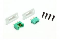 Einbaurahmen Set mit Multiplex Stecker und Buchse