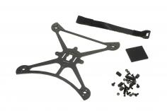 BetaFPV TWIG XL 3Zoll carbon Rahmen inkl Abstandhaltern und Akku Strap