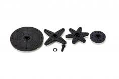 SAVÖX Servohebel Servoarme Für SAVÖX Standardservo und Midiservo mit Metallgetriebe