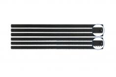 Stift Sägeblätter 148 mm, 3x für Holz und 3x für Metall