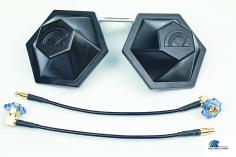 VAS Video Aerial Systems  5.8GHz Crosshair XTreme Diversity System für Fatshark/RapidFire RHCP ( rechtsdrehend )