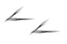 HQ Zweiblatt Propeller DP Durable Prop Poly Carbonat T5x3 in grau transparent je 2xcw und 2xccw