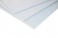 PVC Schaumplatten in weiß 6,0mm 194x320mm
