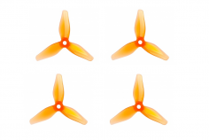 T-Motor Dreiblatt Propeller T3140 aus Poly Carbonat in orange transparent 3,1x4x3 2cw und 2ccw