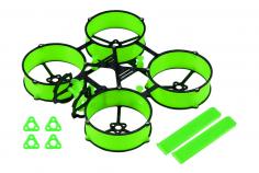 Carbon und 3D Druck Tuningrahmen für Mobula6 in grün