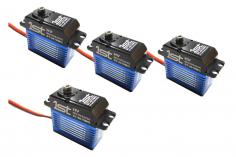 1st Brushless Servoset HV Digital 3x Taumelscheibenservo ST-4010MG 1x Heckservo ST-4015MG