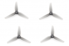 HQ Durable Propeller T3x1,5x3 mit 1.9/1.4/1.9mm Welle aus Poly Carbonate in grau transparent je 2xCW+ 2xCCW