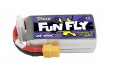 TATTU FunFly 1550mAh 11.1V 100C 3S1P Lipo Akku mit XT60 Anschluss