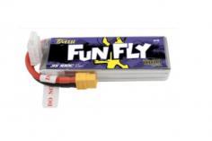 TATTU FunFly 1800mAh 11.1V 100C 3S1P Lipo Akku mit XT60 Anschluss