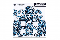 TBS Tango 2 Skin in Block Black Blue Design
