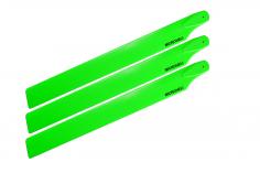 Microheli 3 Blatt Hauptrotorblätter in grün für Blade 230S und 230S V2