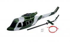 Microheli Scale Rumpf in Army Design Bell UH-1 Huey für Blade 230S und 230S V2