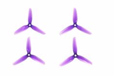 HQ Durable Prop Propeller 4X4,3X3V1S aus Poly Carbonate in violet transparent je 2CW+2CCW
