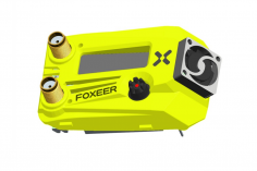 Foxeer Wildfire 5.8GHz 72CH Dual Receiver Support OSD Firmware Update für Fatshark FPV Goggles in floureszierend grün