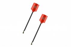 Foxeer Lollipop MICRO FPV Antennen Set RHCP mit UFL Anschluss in rot 2 Stück