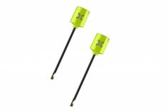Foxeer Lollipop MICRO FPV Antennen Set RHCP mit UFL Anschluss in neon gelb 2 Stück