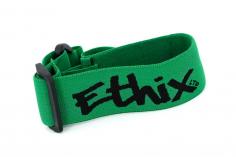 Ethix Goggle Strap V3 in grün mit schwarzem Logo