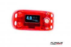 Furious FPV True-D V4.0A FPV Empfänger für Fatshark Attitude Videobrillen in rot