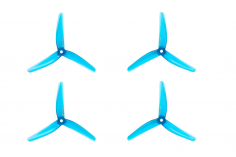 Azure Vanover 5,1x4,5x3 3-Blatt Propeller in blau transparent