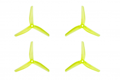 Azure Vanover 5,1x4,5x3 3-Blatt Propeller in gelb transparent