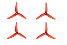 Azure Vanover 5,1x4,5x3 3-Blatt Propeller in rot transparent