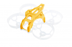 GepRC CineEye Whoop Rahmen 1,6 Zoll mit gelb transparenter Haube