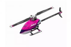 OMPHobby M2 Heli Edition 2020 in dull purple, integrierter OMP Empfänger, Anschluss für S-BUS und DSMX, BNF