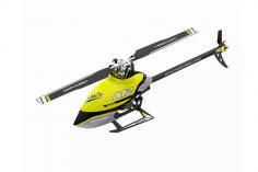 OMPHobby M2 Heli Edition 2020 in racing yellow, integrierter OMP Empfänger, Anschluss für S-BUS und DSMX, BNF